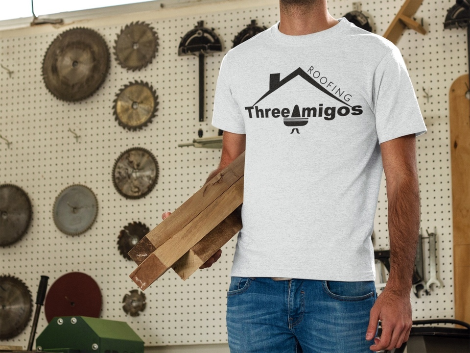 Three Amigos Roofing Shirt